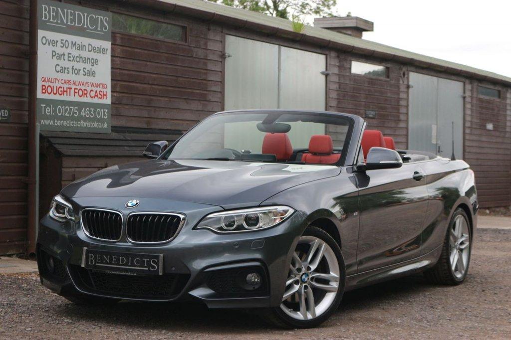 USED 2016 L BMW 2 SERIES 2.0 220D M SPORT 2d 188 BHP