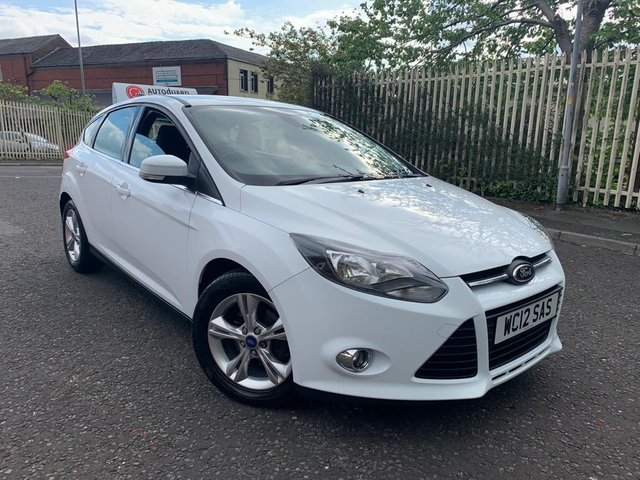 USED 2012 12 FORD FOCUS 1.6 ZETEC TDCI 5d 113 BHP A GREAT RELIABLE CAR