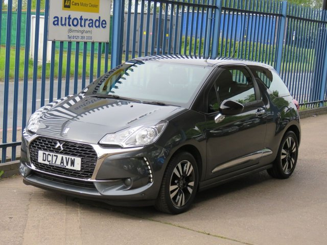 USED 2017 17 DS DS 3 1.2 PURETECH CHIC 3dr 80 Bluetooth & audio-Cruise-DAB-Alloys-Air con Finance arranged Part exchange available Open 7 days