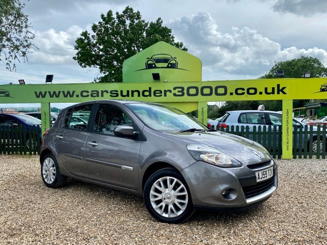 USED 2010 59 RENAULT CLIO 1.1 DYNAMIQUE 16V 5d 74 BHP