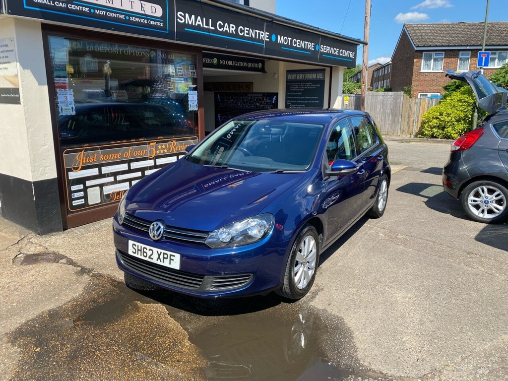 USED 2012 62 VOLKSWAGEN GOLF 1.4 MATCH TSI 5d 121 BHP BLUETOOTH - USB - DAB - AUX - AIRCON - FRONT & REAR PARKING SENSORS - CRUISE CONTROL