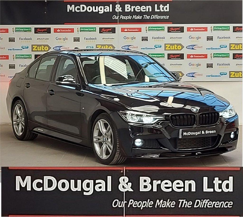 USED 2017 67 BMW 3 SERIES 2.0 318D M SPORT 4d 148 BHP