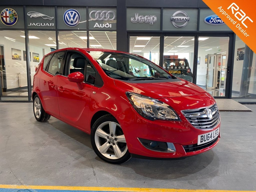 USED 2014 64 VAUXHALL MERIVA 1.4 TECH LINE 5d 99 BHP Complementary 12 Months RAC Warranty and 12 Months RAC Breakdown Cover Also Receive a Full MOT With All Advisory Work Completed, Fresh Engine Service and RAC Multipoint Check Before Collection/Delivery