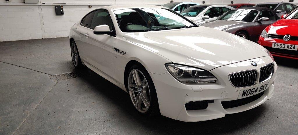 USED 2015 64 BMW 6 SERIES 3.0 640D M SPORT 2d 309 BHP