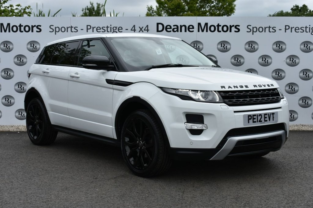 USED 2012 12 LAND ROVER RANGE ROVER EVOQUE 2.0 SI4 DYNAMIC LUX 5d 240 BHP