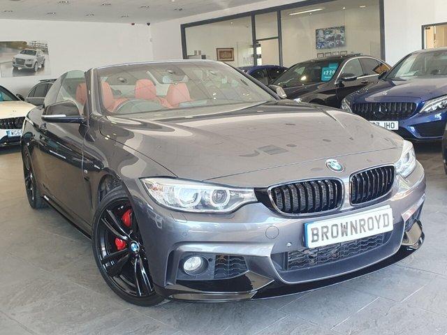 USED 2015 15 BMW 4 SERIES 3.0 435D XDRIVE M SPORT 2d 309 BHP BM PERFORMANCE STYLING+7.9%APR