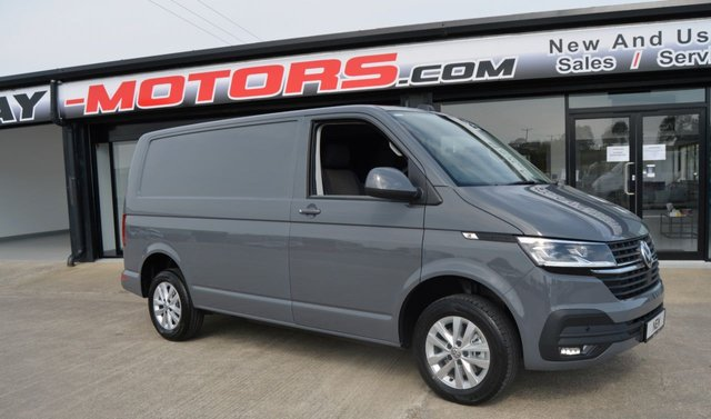 USED 2021 VOLKSWAGEN TRANSPORTER T28 TDI  HIGHLINE 150ps DSG *Pure Grey*NEW*Delivery Miles*