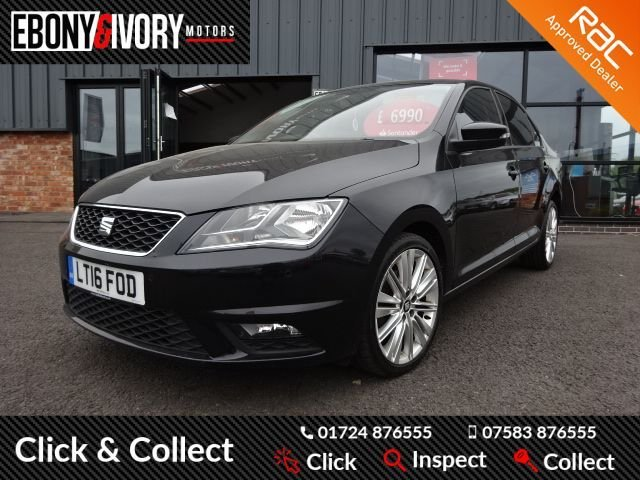 USED 2016 16 SEAT TOLEDO 1.6 TDI STYLE ADVANCED 5d 113 BHP + FULL SERVICE HISTORY + 1 YEAR MOT AND BREAKDOWN COVER