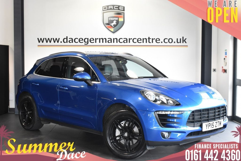 USED 2015 15 PORSCHE MACAN 3.0 S PDK 5DR AUTO 340 BHP