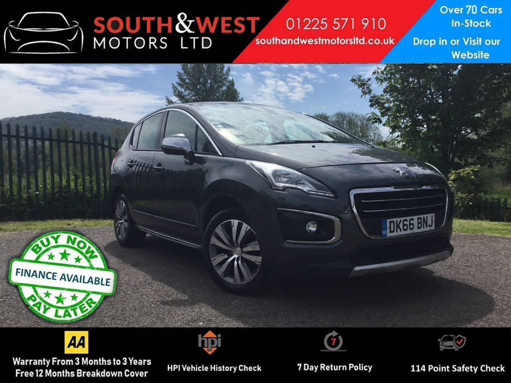 USED 2016 66 PEUGEOT 3008 1.6 BLUE HDI S/S ACTIVE 5d 120 BHP