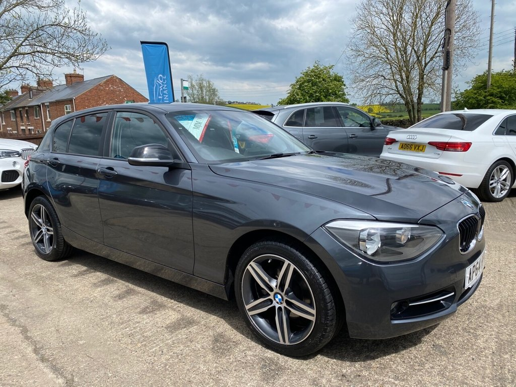 USED 2015 64 BMW 1 SERIES 2.0 116D SPORT AUTOMATIC 5d 114 BHP * PARKING AID * BLUETOOTH * CRUISE CONTROL * STUNNING THROUGHOUT *
