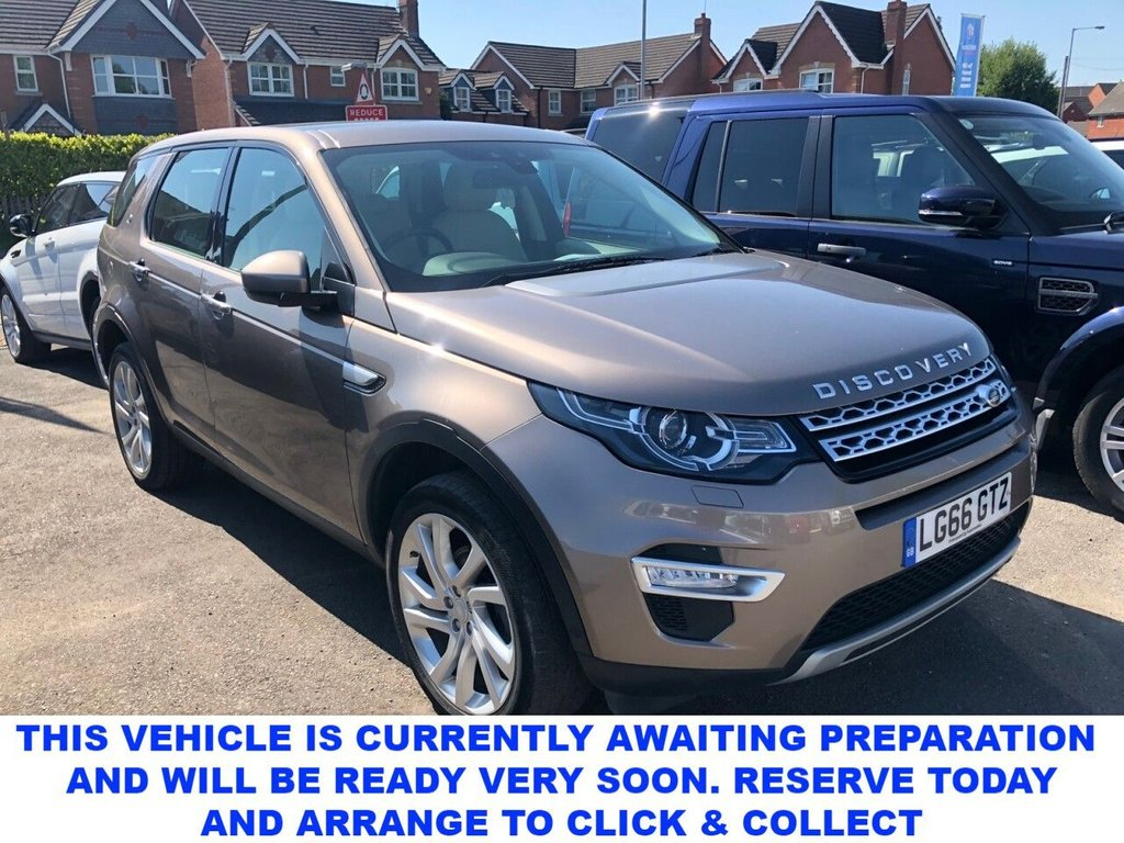 USED 2016 66 LAND ROVER DISCOVERY SPORT 2.0 TD4 HSE LUXURY 5d 7 Seat Family SUV 4x4 Very Rare Manual with Massive High Spec Great Colour Combination 7 Seater Family SUV