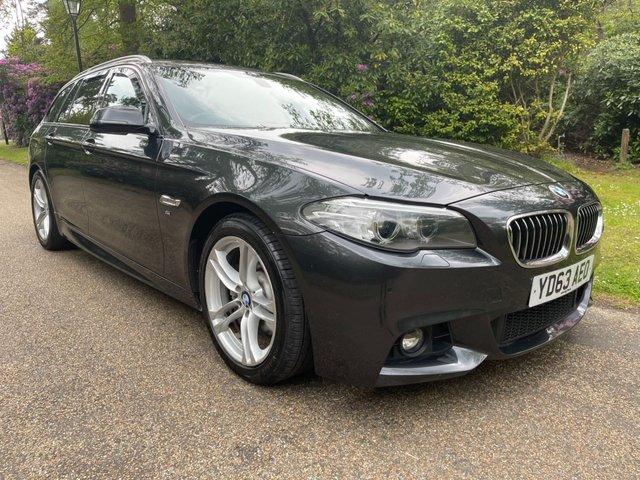 USED 2013 63 BMW 5 SERIES 2.0 520D M SPORT TOURING 5d 181 BHP