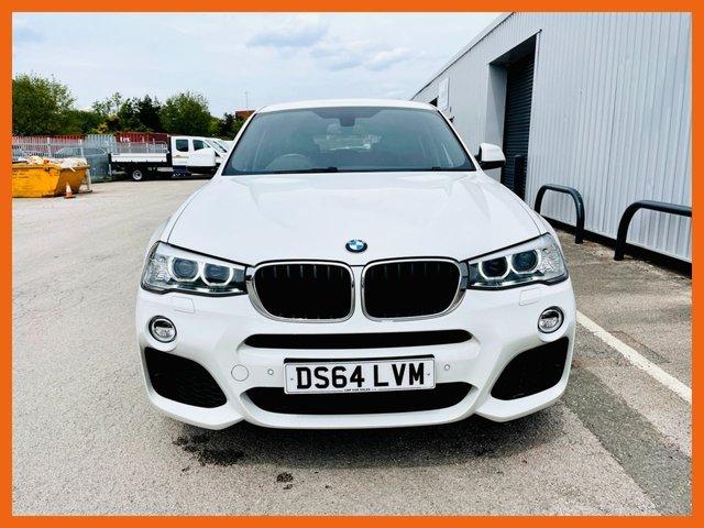 USED 2014 64 BMW X4 2.0 XDRIVE20D M SPORT 4d 188 BHP