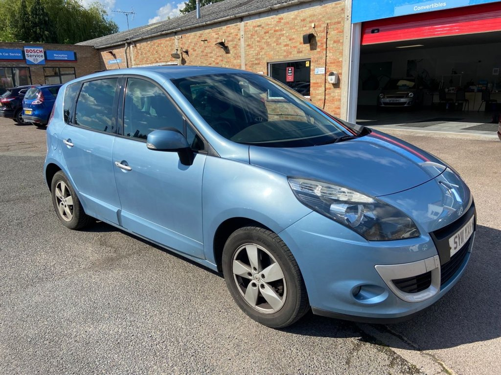 USED 2011 11 RENAULT SCENIC 1.5 DYNAMIQUE TOMTOM DCI 5d 110 BHP FSH