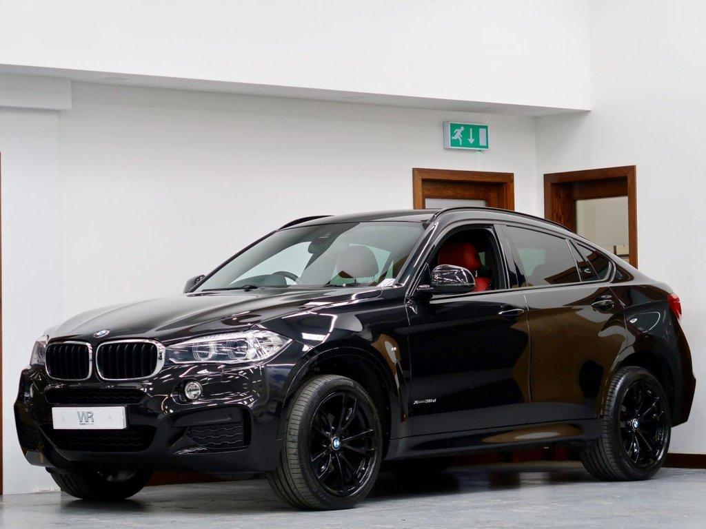 USED 2016 66 BMW X6 3.0 30d M Sport Auto xDrive (s/s) 5dr DIGITAL CP +R/CAM +RED LEATHR