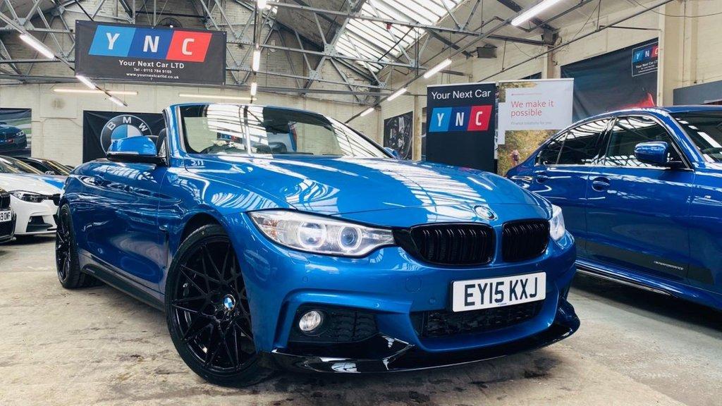 USED 2015 15 BMW 4 SERIES 2.0 420d M Sport Auto 2dr PERFORMANCEKIT+20S+HK