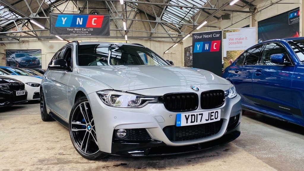 USED 2017 17 BMW 3 SERIES 2.0 318d M Sport Touring (s/s) 5dr PERFORMANCEKIT+PLUSPACK+19S