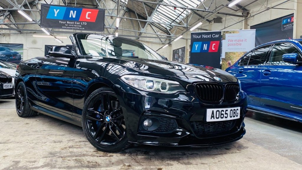 USED 2015 65 BMW 2 SERIES 2.0 220d M Sport (s/s) 2dr PERFORMANCEKIT+PLUSPACK+18S