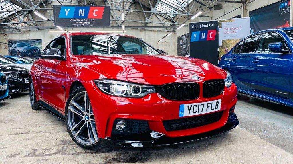 USED 2017 17 BMW 4 SERIES 2.0 420d M Sport Auto 2dr PERFORMANCEKIT+HIGHSPEC+PLUSPK