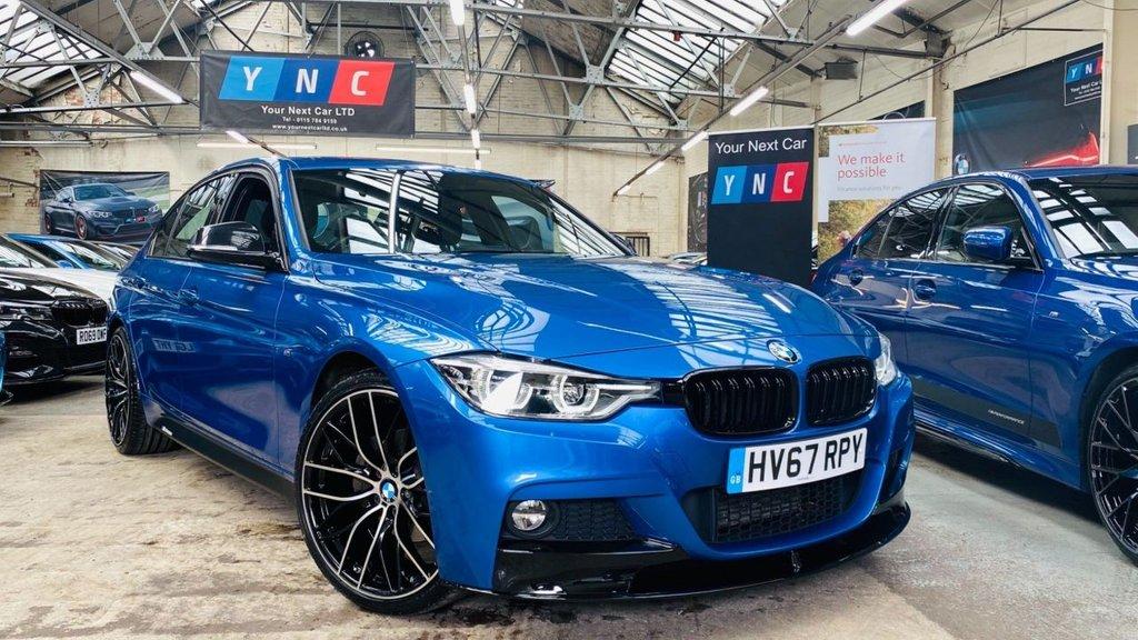 USED 2017 67 BMW 3 SERIES 2.0 320d BluePerformance M Sport (s/s) 4dr PERFORMANCEKIT+20S+LEDS