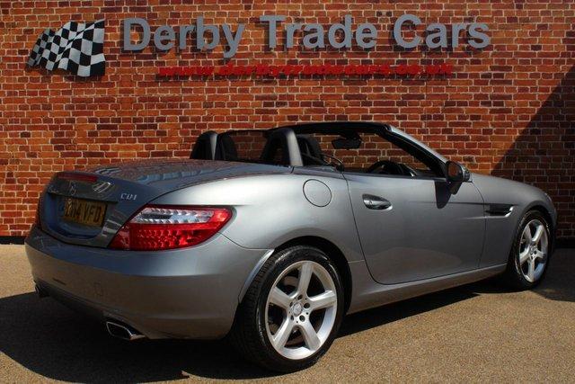 MERCEDES-BENZ SLK at Derby Trade Cars