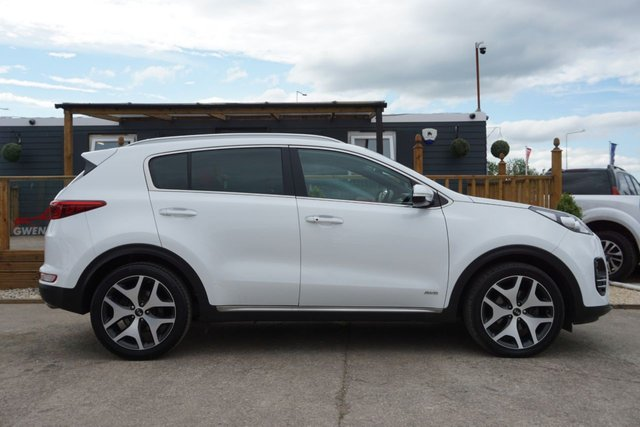 USED 2018 18 KIA SPORTAGE 1.6 GT-LINE 5d 174 BHP ARRIVING NEXT ONE OWNER GREAT MILES