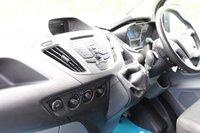 USED 2017 67 FORD TRANSIT CUSTOM 2.0 290 TREND LR P/V 129 BHP EURO 6 - LWB - BLACK - TREND