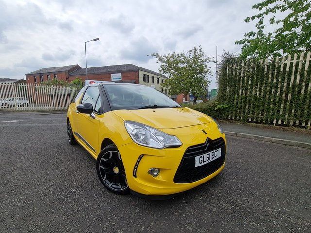 USED 2011 61 CITROEN DS3 1.6 E-HDI DSTYLE PLUS 3d 90 BHP A GREAT DS3