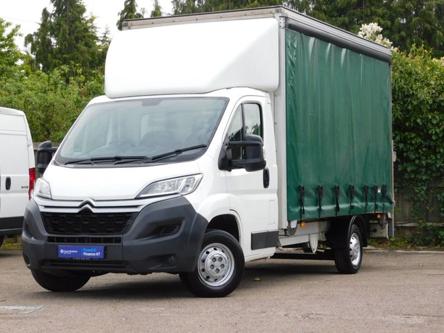 USED 2016 16 CITROEN RELAY 2.2 35 L3 HDI 129 BHP Curtain Side+Tail Lift