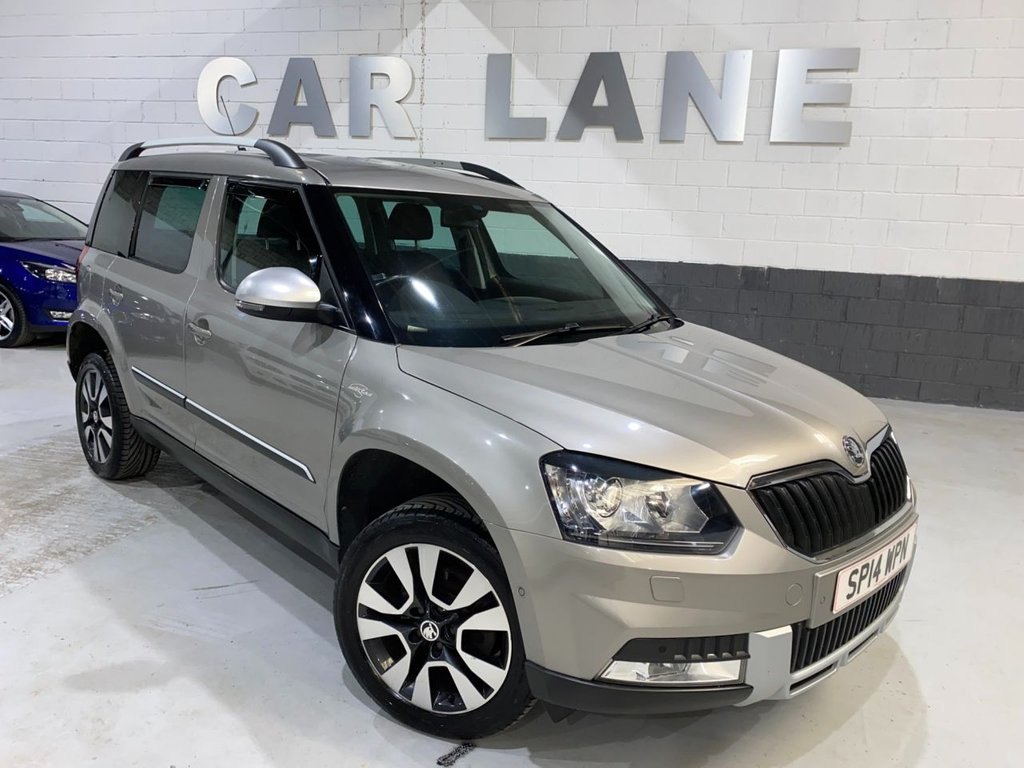 USED 2014 14 SKODA YETI OUTDOOR 2.0 LAURIN AND KLEMENT TDI CR DSG 5d 138 BHP