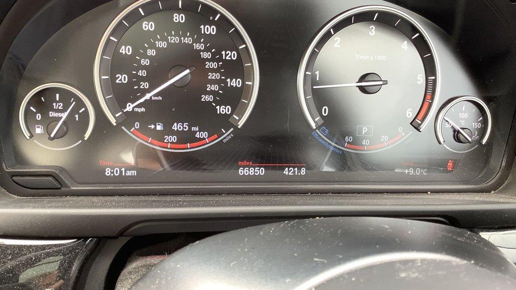 USED 2015 65 BMW 5 SERIES 3.0L 530D M SPORT 4d AUTO 255 BHP