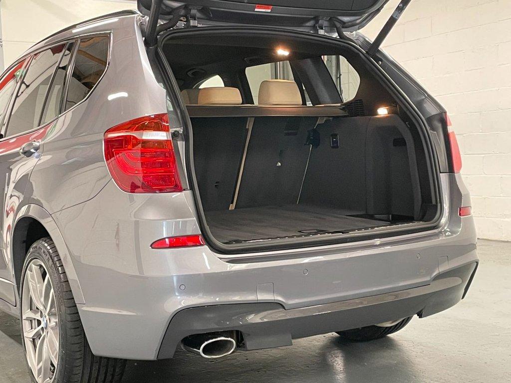 USED 2014 64 BMW X3 2.0 20d M Sport Auto xDrive 5dr