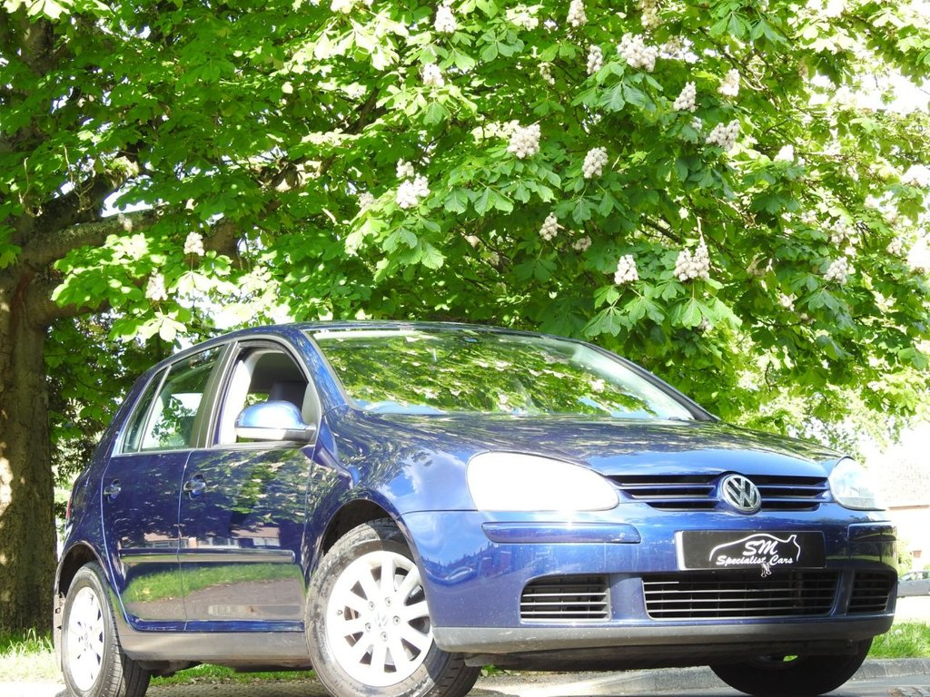 USED 2007 07 VOLKSWAGEN GOLF 1.9 MATCH TDI DSG 5d 103 BHP ONLY 37K FROM NEW A/C FSH VGC