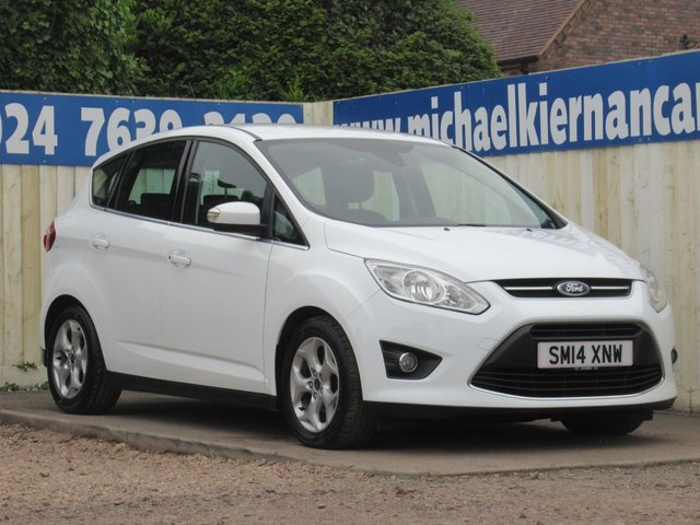 USED 2014 14 FORD C-MAX 1.0 ZETEC 5d 99 BHP LOVELY CAR