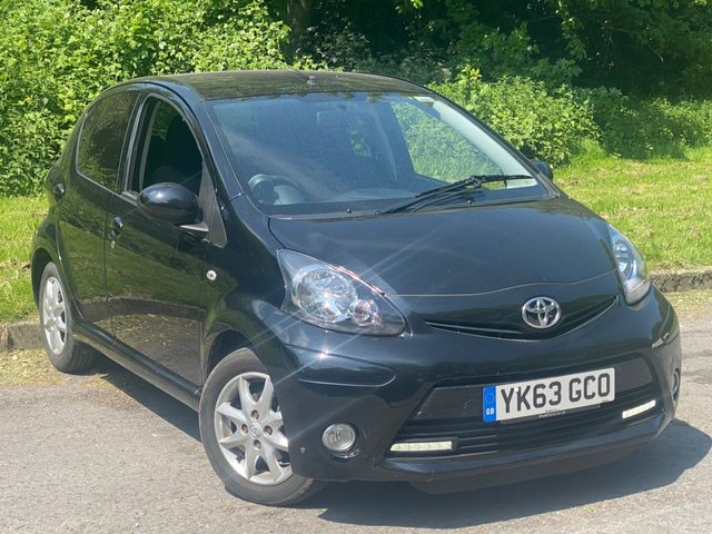 USED 2013 63 TOYOTA AYGO 1.0 VVT-I MODE 5d 68 BHP LOW MILEAGE STARTER CAR