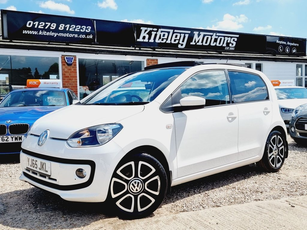 USED 2015 65 VOLKSWAGEN UP 1.0 HIGH UP PANORAMIC ROOF
