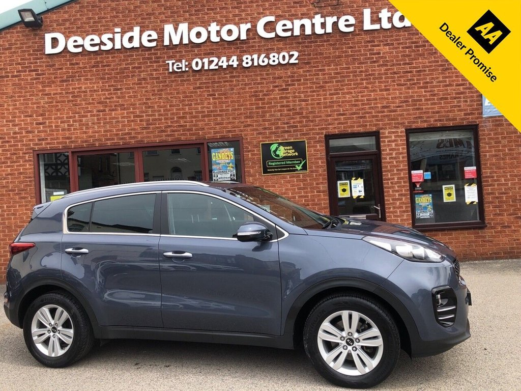 USED 2016 16 KIA SPORTAGE 1.7 CRDI 2 ISG 5d 114 BHP Bluetooth  :  Sat Nav  :  DAB Radio  :     Cloth upholstery   :   Isofix fittings   :   Air-conditioning   :   Cruise control/Speed limiter   :          Kia Hill Descent control / Lane Departure warning system  :  Rear parking sensors  :      Rear view camera   :   Cargo/Load cover