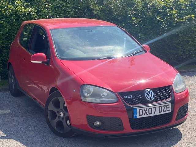 USED 2007 07 VOLKSWAGEN GOLF 2.0 GTI 3d FULL SERVICE HISTORY, 12 MONTHS MOT, BLUETOOTH, TOUCH SCREEN INTERFACE, ELECTRIC MIRRORS