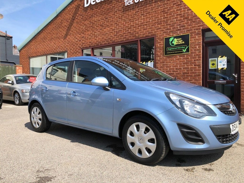 USED 2014 14 VAUXHALL CORSA 1.2 DESIGN AC 5d 83 BHP Stamped service history : 2 Keys  :  Cloth upholstery  :  Auxiliary input socket  :  Rear parcel shelf
