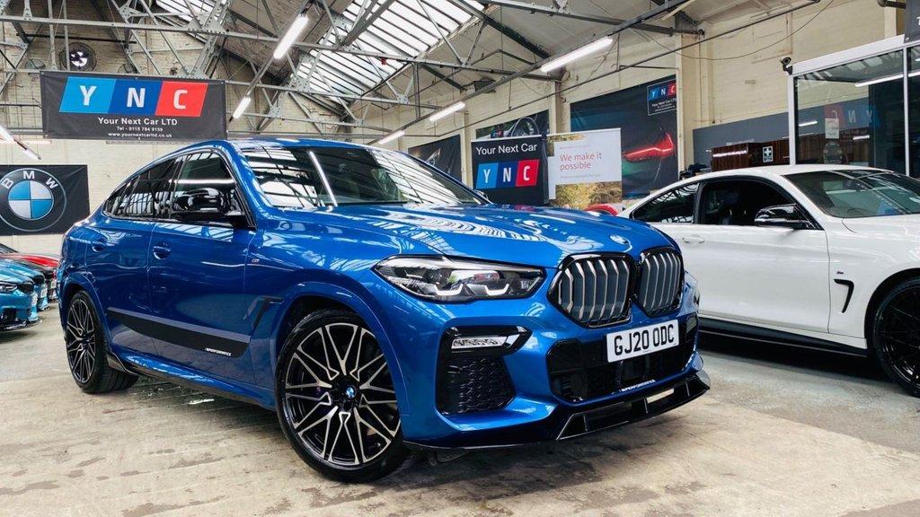 USED 2020 20 BMW X6 3.0 30d M Sport Auto xDrive (s/s) 5dr PERFORMANCEKIT+21'S+ICONGRILLS