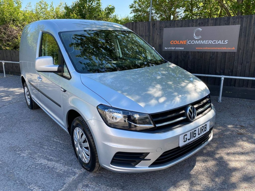 USED 2016 16 VOLKSWAGEN CADDY 2.0 TDI C20 BlueMotion Tech Trendline EU6 (s/s) 5dr *AIR CONDITIONING**CRUISE*