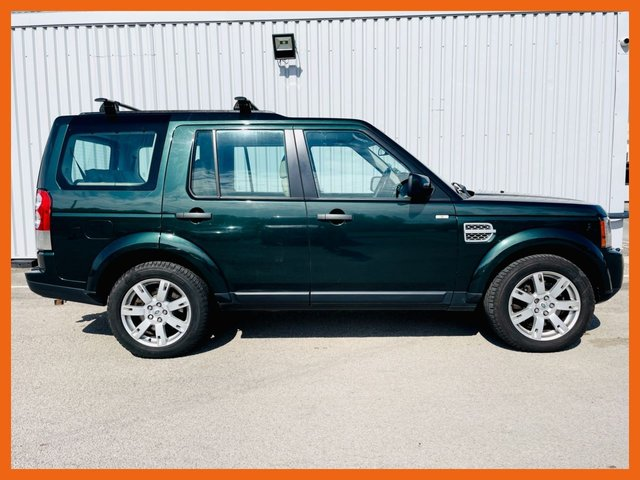 USED 2011 11 LAND ROVER DISCOVERY 3.0 4 SDV6 XS 5d 245 BHP 12 MONTH MOT - CAM BELT JUST DONE JUNE 2020 - SATELLITE NAVIGATION - LAST SERVICE AT LAND ROVER @ 89,753 MILES, HEATED LEATHER SEATS - TOW BAR FITTED