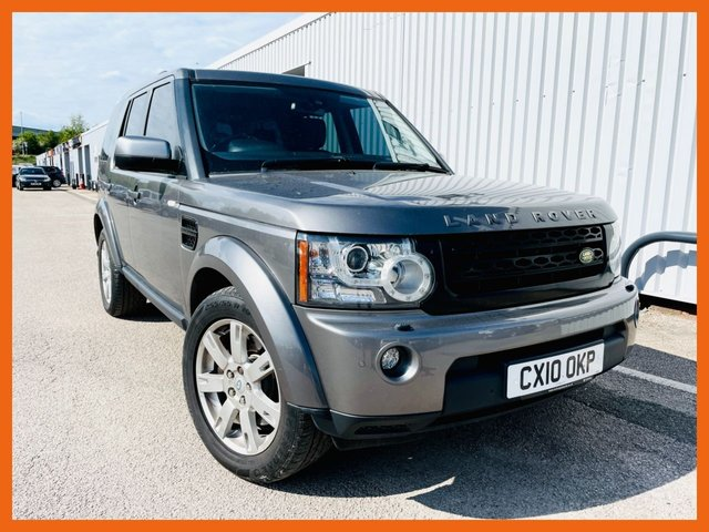 USED 2010 10 LAND ROVER DISCOVERY 3.0 4 TDV6 XS 5d 245 BHP FULL SERVICE HISTORY, 10 STAMPS - LAST 5th Nov 2020 @ 82,267 miles - 12 MONTH MOT - NEW REAR PADS - SATELLITE NAVIGATION - HEATED LEATHER BLACK SEATS - TOW BAR FITTED - REAR PRIVACY SUNSCREEN GLASS - 3 MONTH WARRANTY