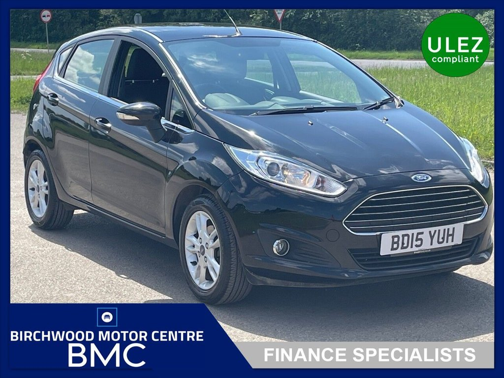 USED 2015 15 FORD FIESTA 1.6 ZETEC 5d 104 BHP. FORD SYNC AVAILABLE!!!
