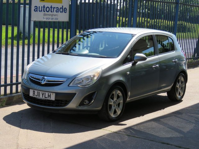 USED 2011 11 VAUXHALL CORSA 1.2 SXI A/C 5dr 83 Air conditioning-Privacy glass-Cruise-Alloys-Fogs Finance arranged Part exchange available Open 7 days