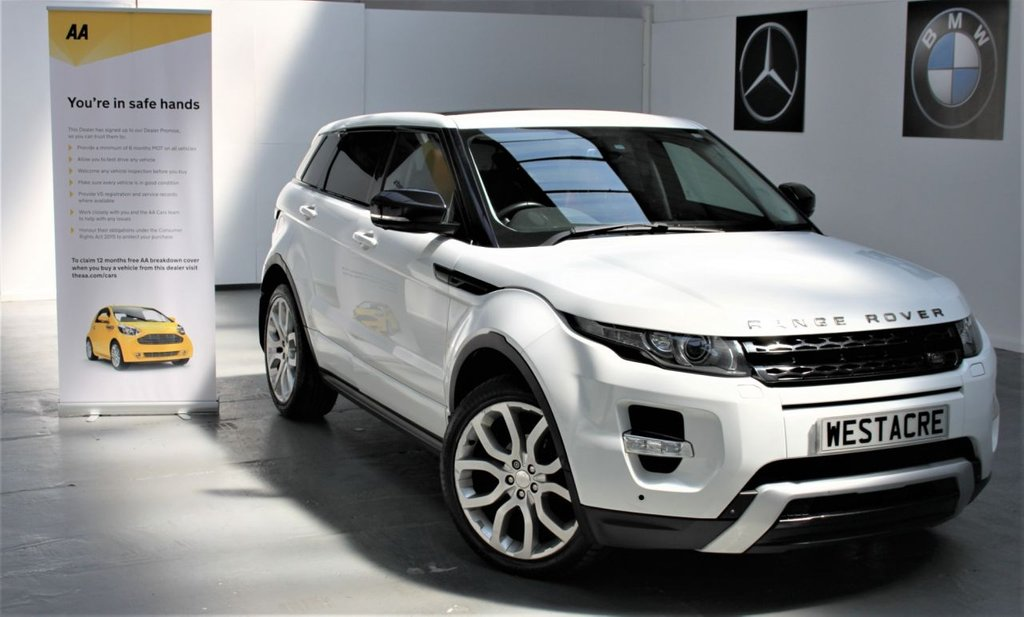 USED 2013 13 LAND ROVER RANGE ROVER EVOQUE 2.2 SD4 DYNAMIC LUX 5d 190 BHP