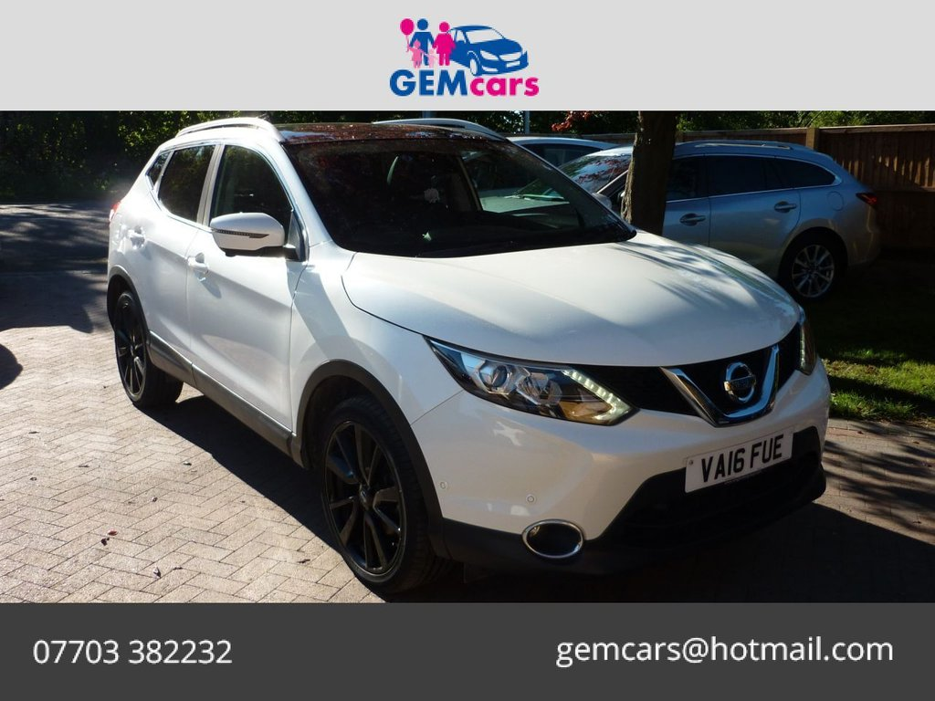 USED 2016 16 NISSAN QASHQAI 1.5 DCI TEKNA 5d 108 BHP GO TO OUR WEBSITE TO WATCH A FULL WALKROUND VIDEO
