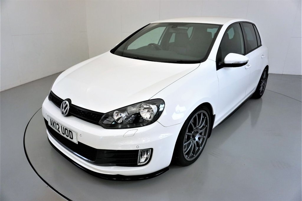 USED 2012 12 VOLKSWAGEN GOLF 2.0 GTD TDI 5d-2 FORMER KEEPERS-HEATED BLACK LEATHER-18