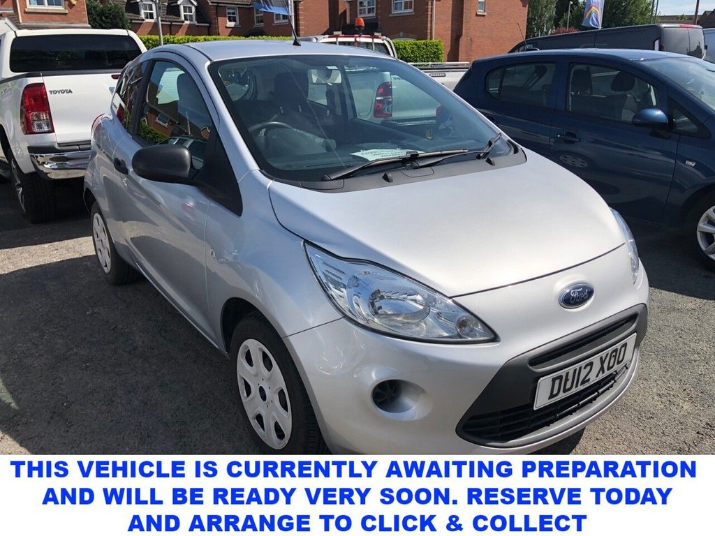 USED 2012 12 FORD KA 1.2 STUDIO 3d 4 Seat Petrol Hatchback Great Value for Money with Unbelievable Low Mileage Perfect First Car